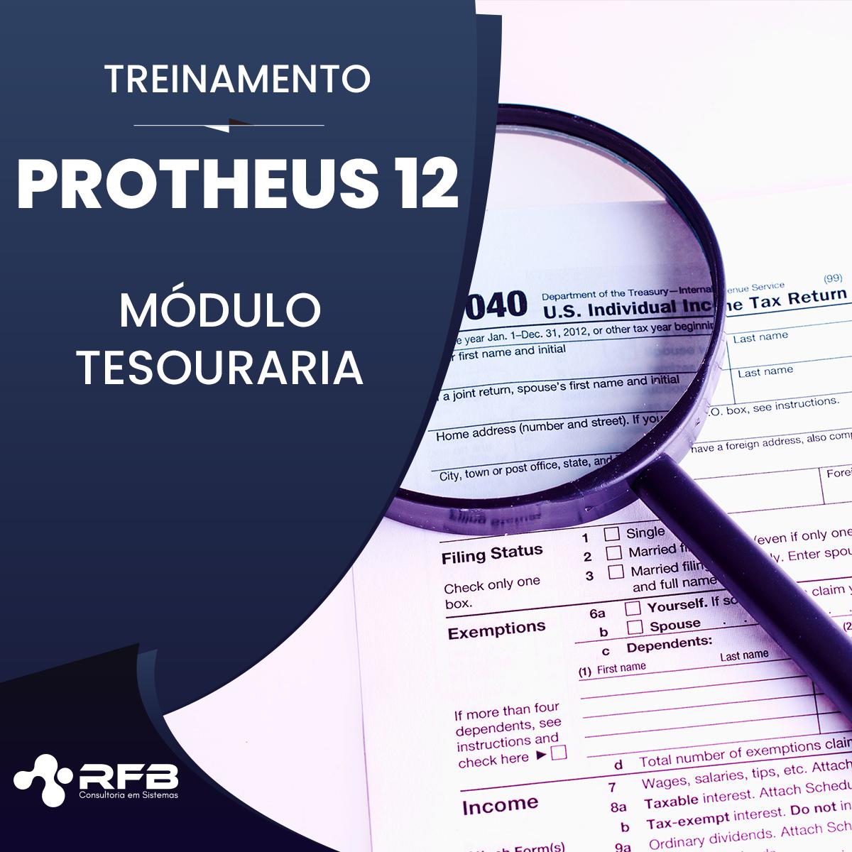 Treinamento Totvs Protheus 12 – Financeiro – Tesouraria