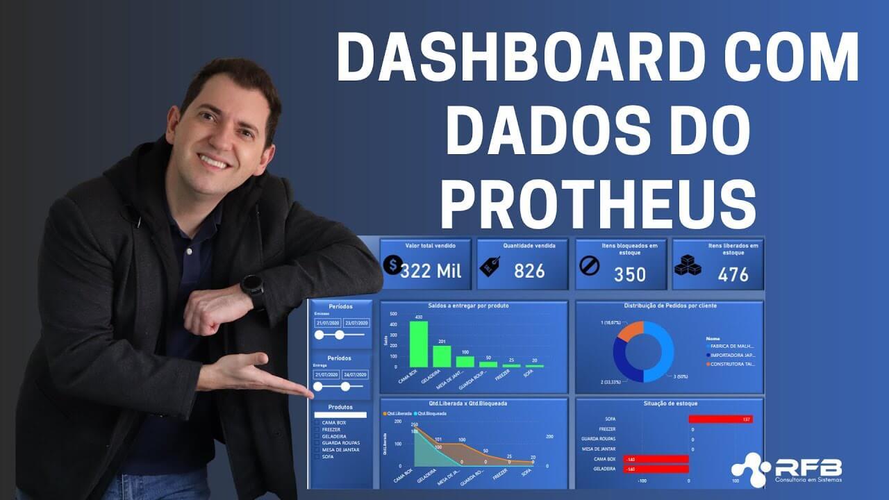 Dashboard com dados do Protheus 12: como criar?